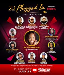 Plugged In - Dj Edition Kerra Denel